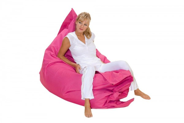 Loungepillow en pink 180 x 140 cm