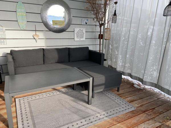 Alenia Garten Lounge Set in Anthrazit