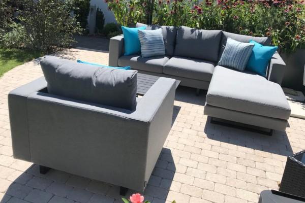 Thomson Garten Lounge in Grau