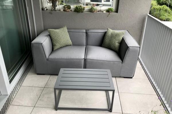 Hanna garden lounge in grey
