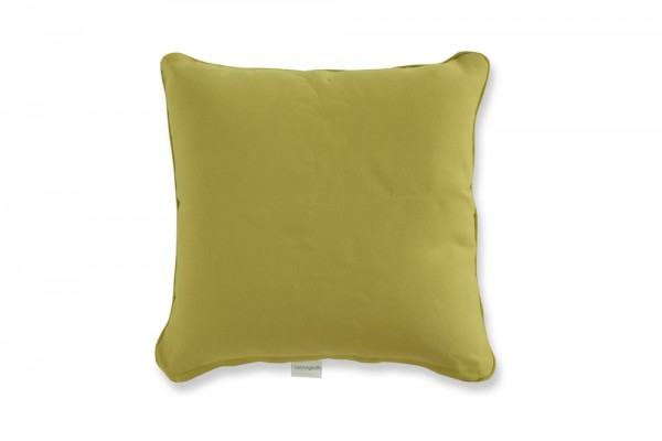 Decorative pillow in lime