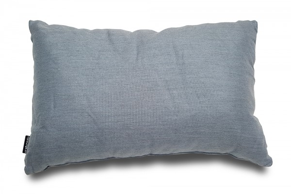 Sunbrella Frosty decorative pillow in blue