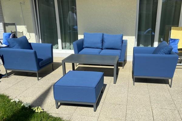 Galaxy garden lounge set in bluestorm