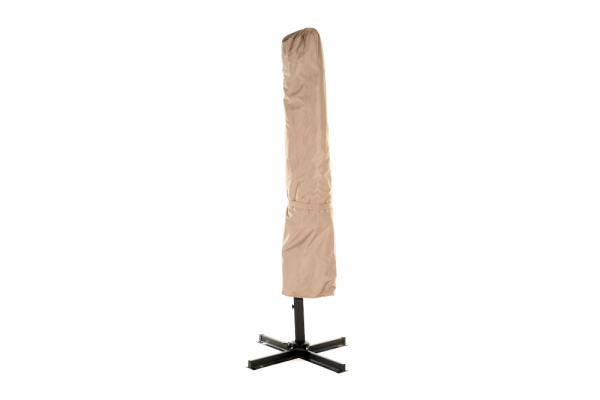 Regenschutz Sonnenschirm Swing in Sandbraun