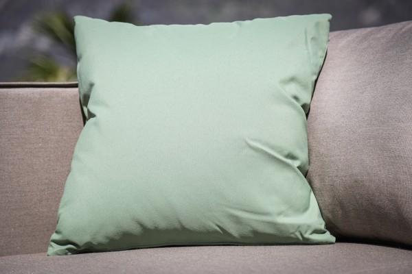Coussin décoratif résistant aux intempéries en Apple Green