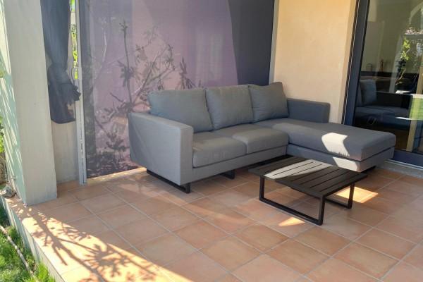 Thomson garden lounge in grey