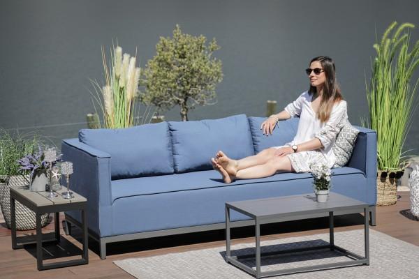 Freeride outdoor sofa in bluestorm