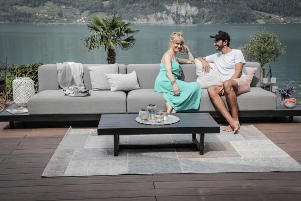 Windsor 3-seater garden lounge in grey