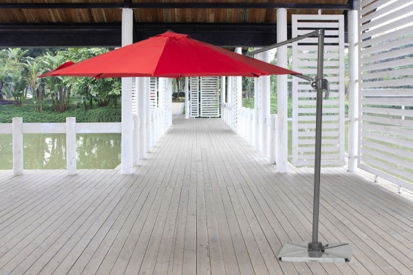 Sonnenschirm Swing in Rot
