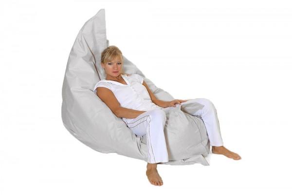 Lounge pillow in beige 180x140 cm