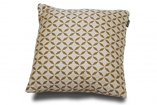 Sunbrella Grana decorative pillow in yellow