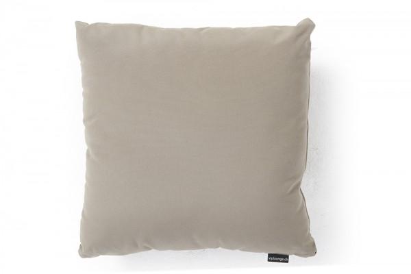 Coussin d'extérieur en tissu Sunbrella en brun sable