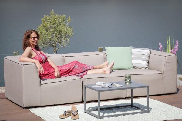 Lounge de jardin Barbarella en brun sable