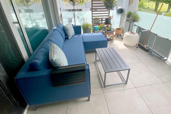 Alenia Garten Lounge Set in Bluestorm
