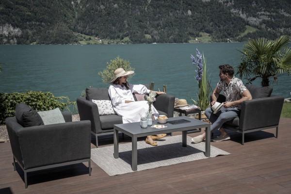 Galaxy Garten Lounge Set in Anthrazit