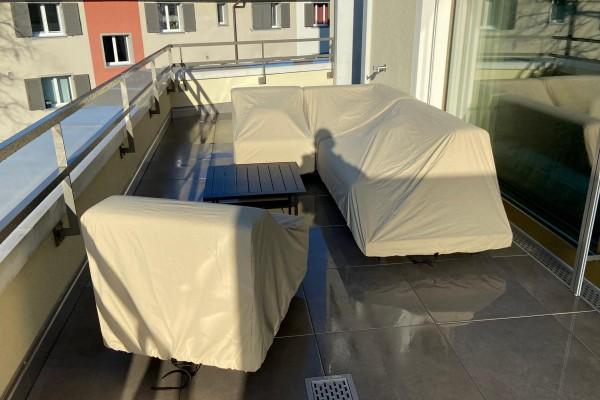 Protection contre la pluie Toronto pour canapé d'angle à gauche