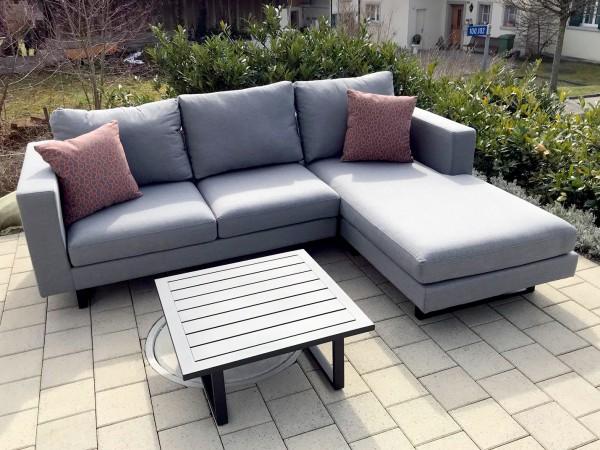 Lounge de jardin Thomson Deluxe en gris