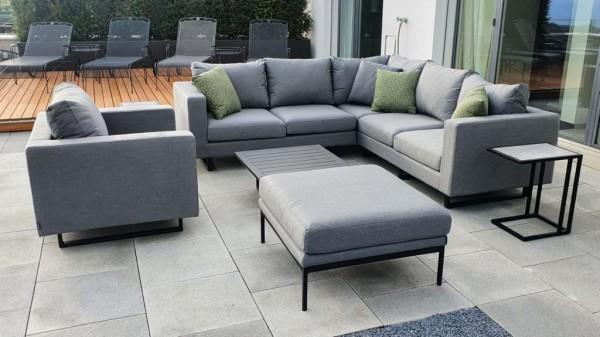 Melody Deluxe Garten Lounge in Grau