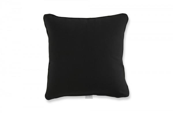 Decorative pillow in black