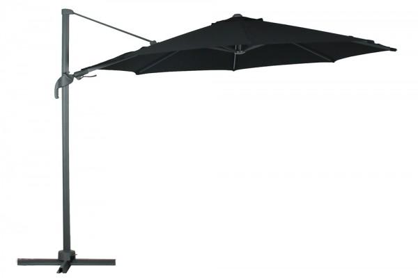 Jupiter parasol 330 cm in black