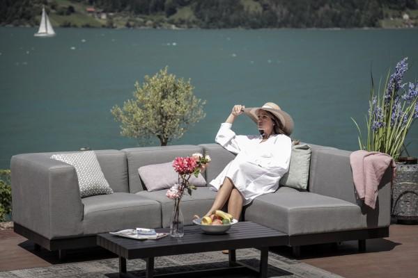 Lounge de jardin Azura en gris