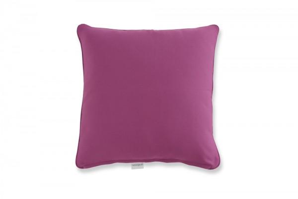 Decorative pillow in purple