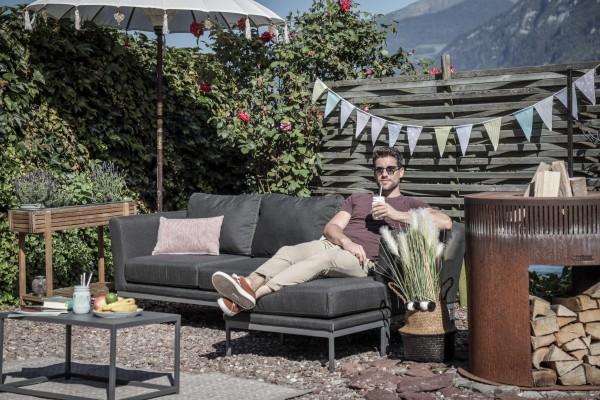 Brooks Garten Lounge links in Anthrazit