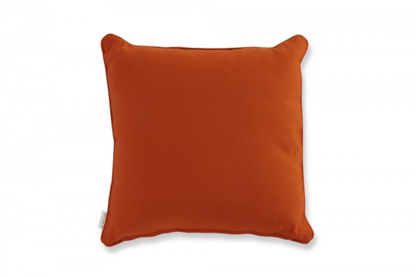 Coussin décoratif en orange