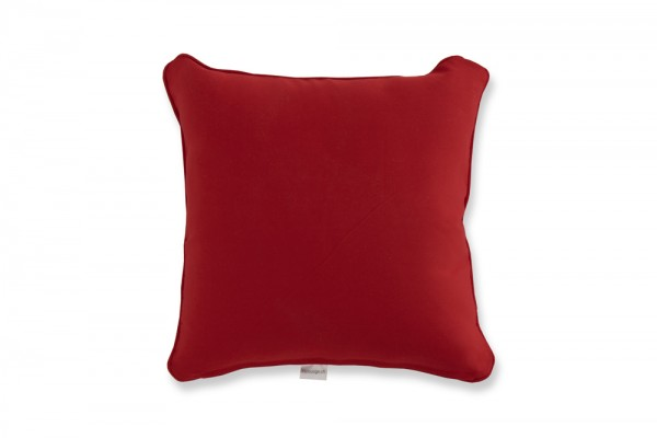 Decorative pillow in red