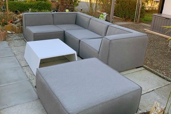 Raven wetterfeste Lounge in Grau